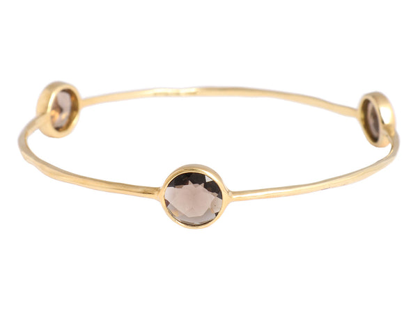 Ippolita Smoky Topaz Rock Candy Bangle