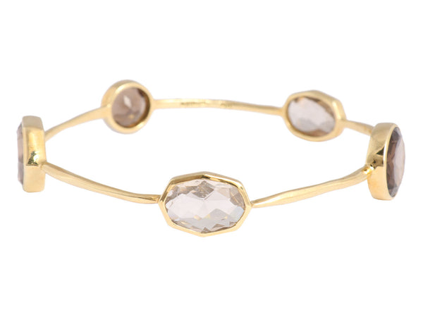 Ippolita Citrine/Smoky Topaz Rock Candy Bangle
