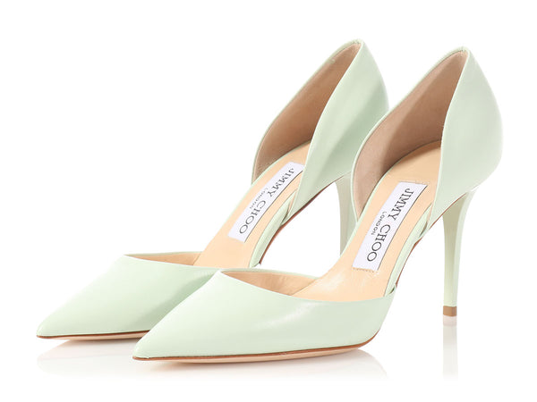 Jimmy Choo Key Lime Addison Heels