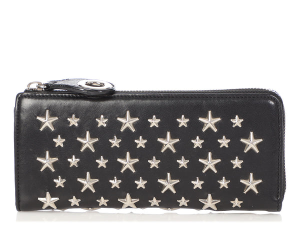 Jimmy Choo Black Filipa Wallet