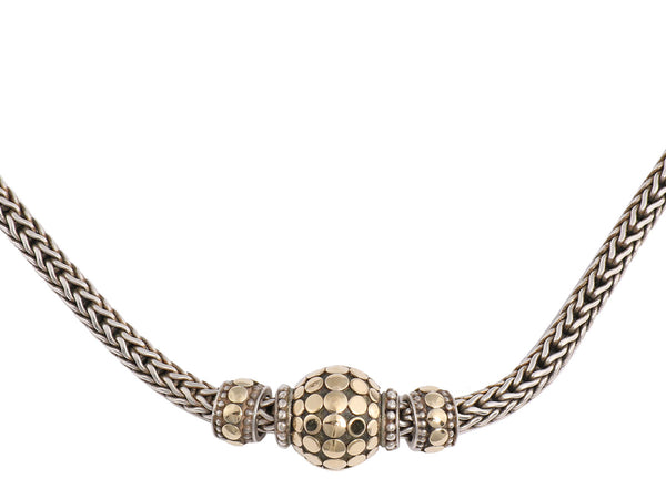 John Hardy Three Bead Choker