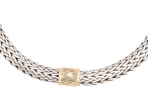 John Hardy Sterling Bali Chain Necklace