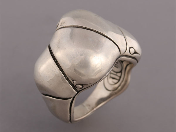 John Hardy Sterling Silver Bamboo Ring