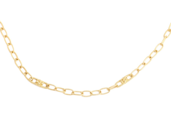 Judith Ripka 18K Yellow Gold Chain