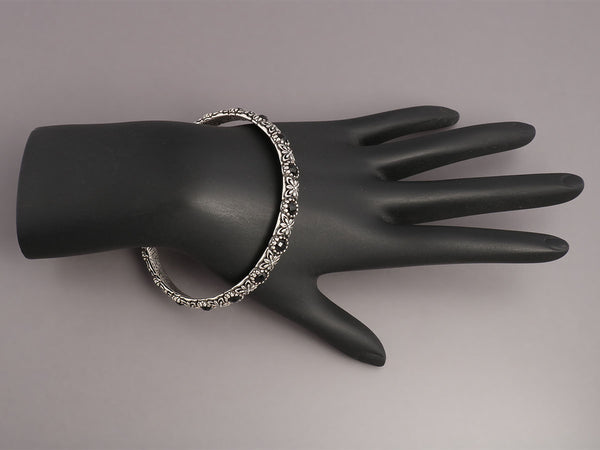 Konstantino Nykta Black Onyx Bangle