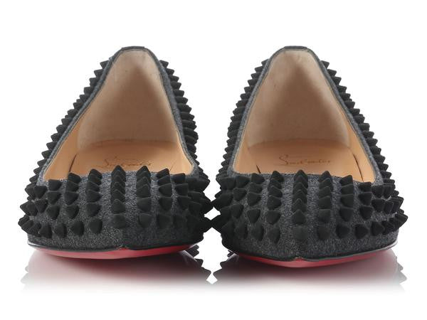 Christian Louboutin Flannel Pigalle Flats