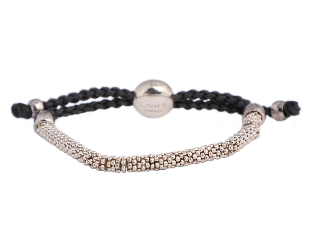 Links of London Sterling Silver Effervescence Bead Friendship Bracelet