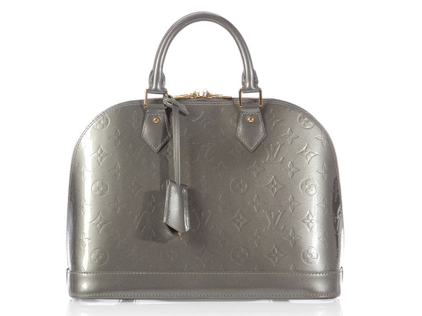 Louis Vuitton's Gris Art Deco Vernis Alma PM