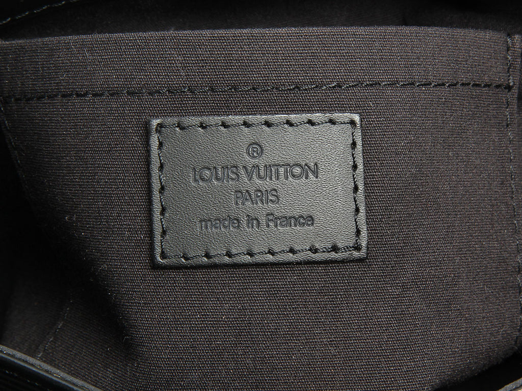 Louis Vuitton Black Epi Mandara PM