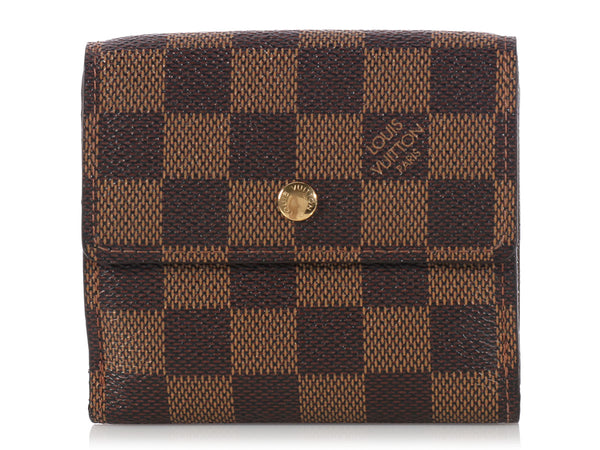 Louis Vuitton Damier Double-Sided Porte Monnaie