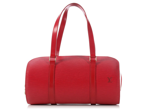 Louis Vuitton Red Epi Soufflot