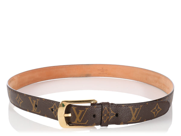 Louis Vuitton Monogram Ellipse Belt