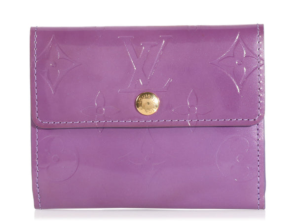 Louis Vuitton Purple Vernis Ludlow Wallet