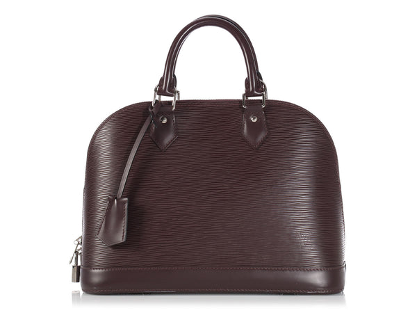 Louis Vuitton Quetsche Epi Alma PM