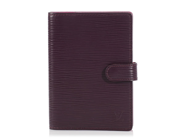 Louis Vuitton Small Cassis Epi Ring Agenda Cover