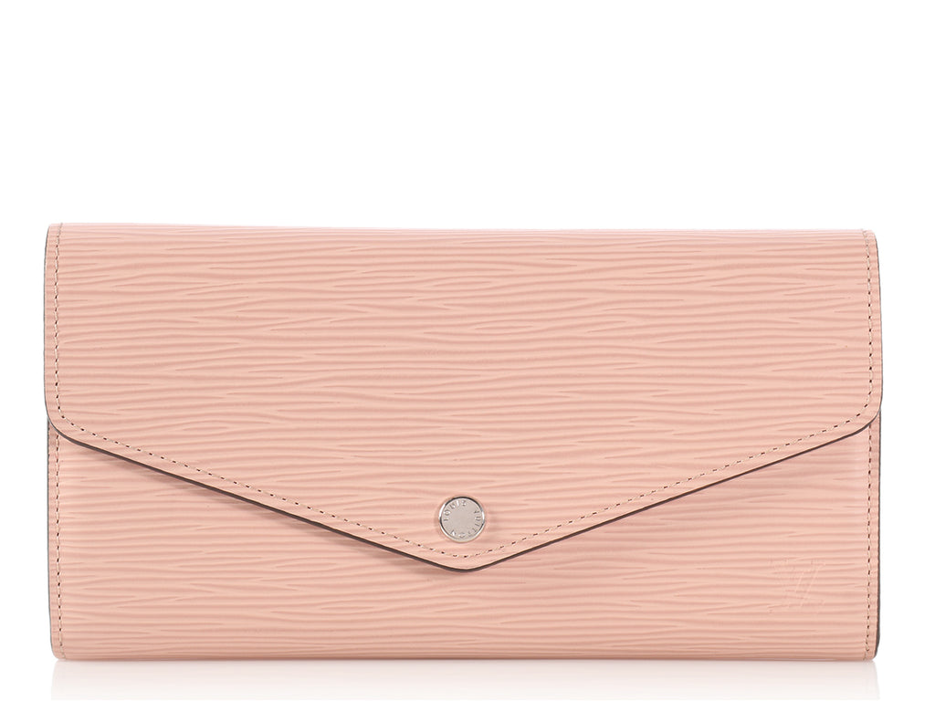 Louis Vuitton Pink Epi Sarah Wallet