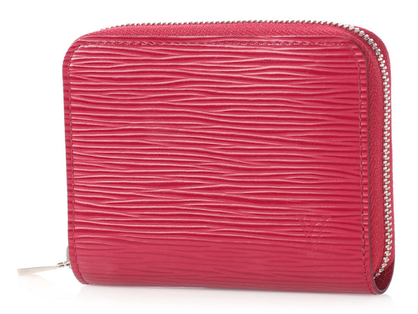 Louis Vuitton Fuchsia Epi Zippy Coin Purse