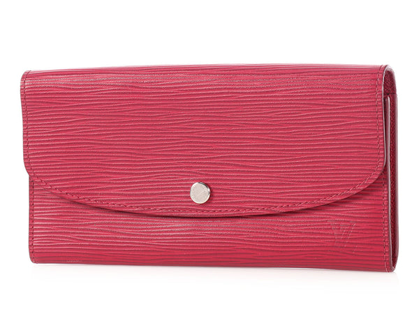 Louis Vuitton Fuchsia Epi Emilie Wallet