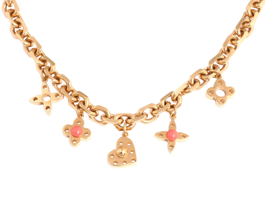 Louis Vuitton Collier Hide and Seek Necklace