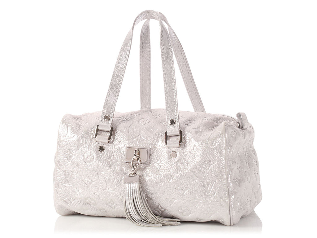 Louis Vuitton Silver Comete Empreinte Bag