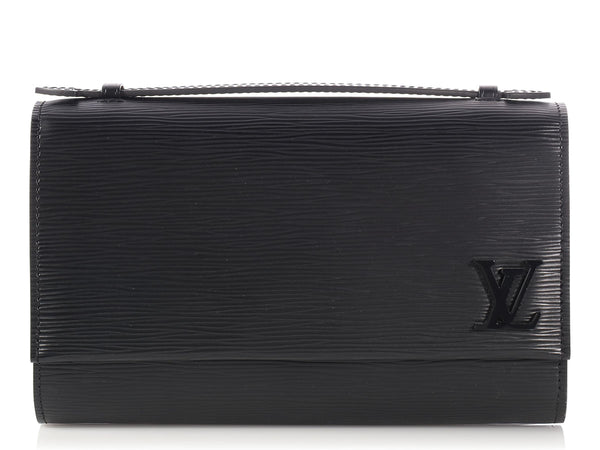 Louis Vuitton Black Epi Clery