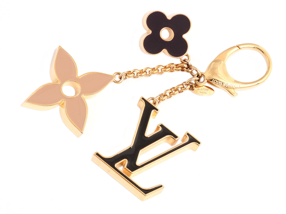 7e04fda0 Louis Vuitton Fleur de Monogram Bag Charm