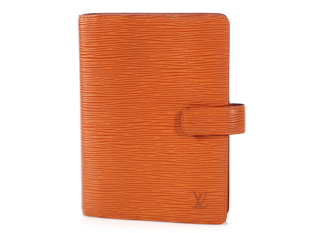 Louis Vuitton Brown Epi Agenda Cover