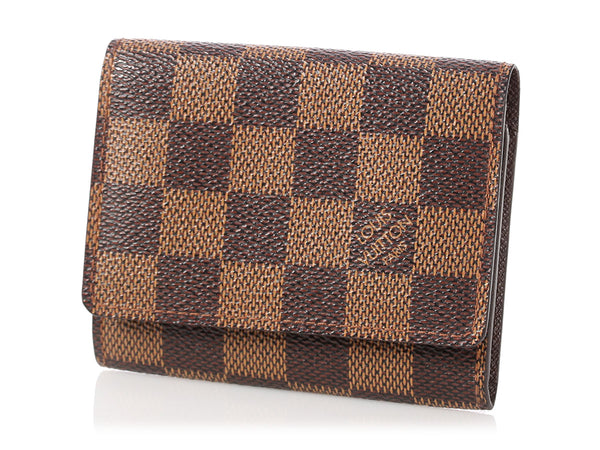 Louis Vuitton Damier Ebène Card Case
