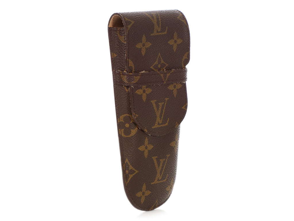 Louis Vuitton Monogram Etui à Lunettes Rabat Eyeglass Case