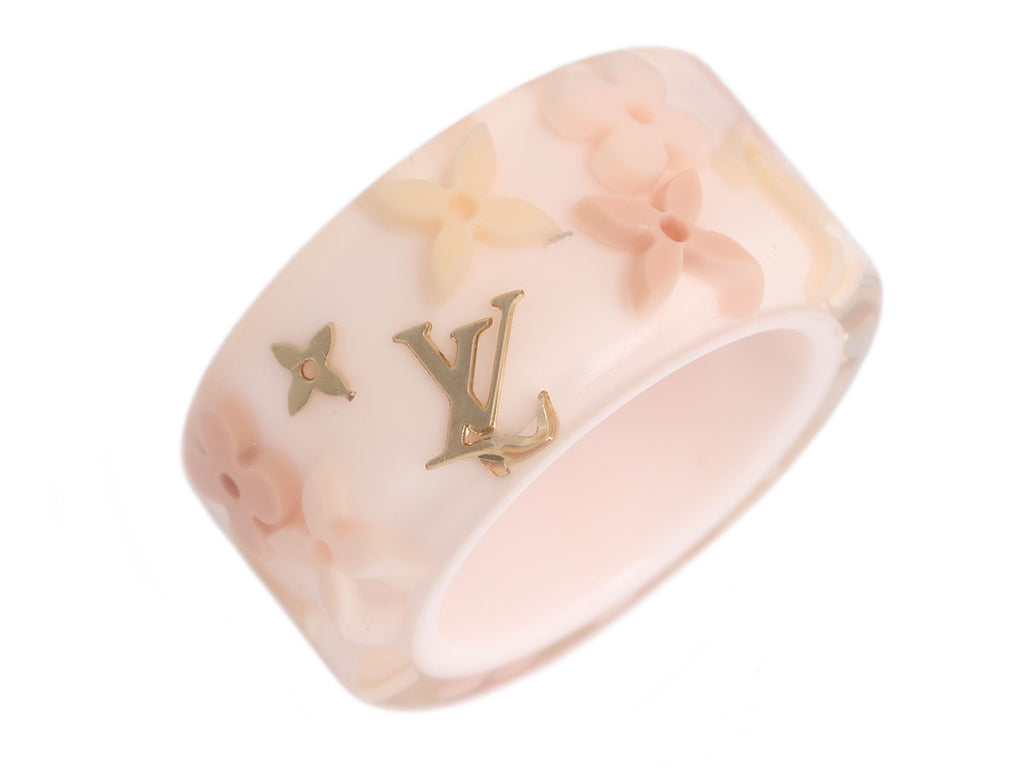 Louis Vuitton Light Pink Inclusion Ring