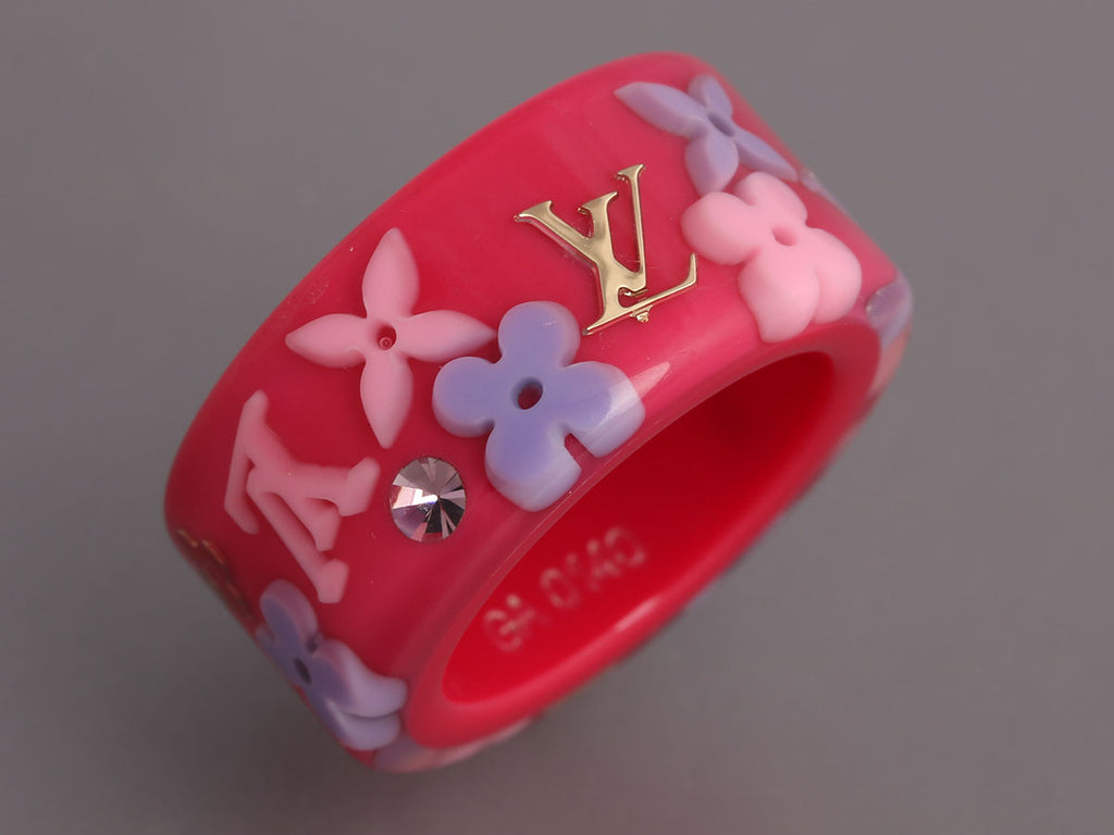 Louis Vuitton Rose Inclusion Ring