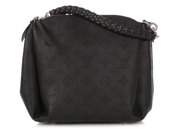 Louis Vuitton Black Babylone Chain BB