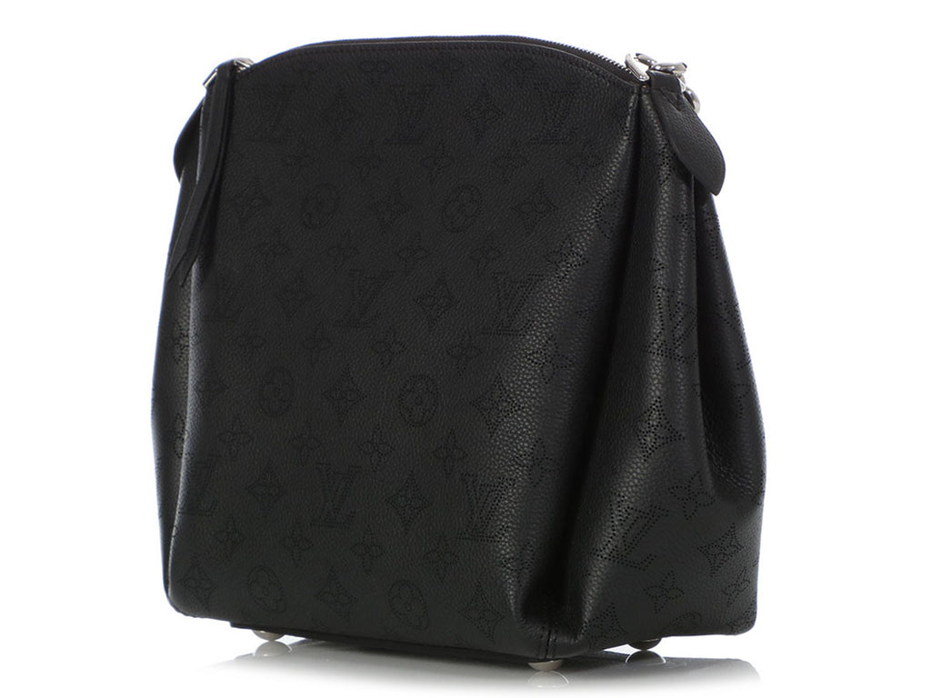 Louis Vuitton Black Mahina Babylone Chain BB