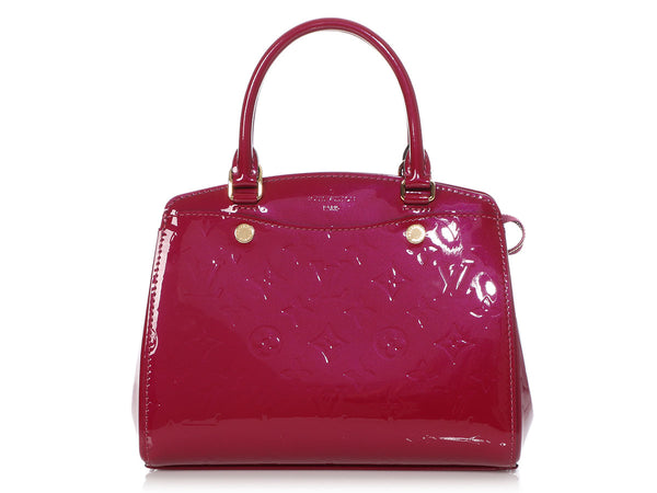 Louis Vuitton Magenta Vernis Bréa BB