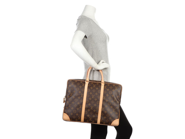 Louis Vuitton Monogram Porte-Documents Voyage Briefcase