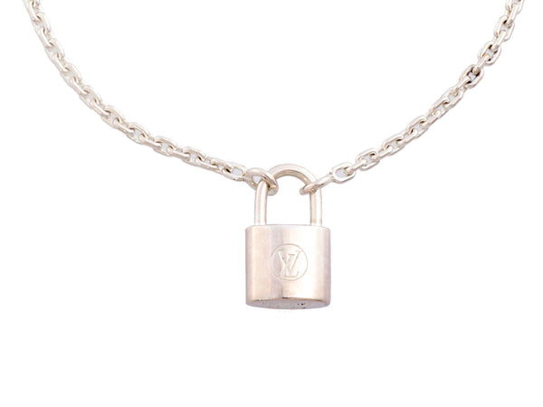 Louis Vuitton Sterling Silver LV for UNICEF Lockit Charm Bracelet