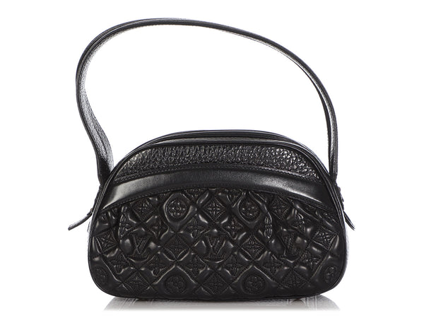 Louis Vuitton Black Vienna Klara Bag