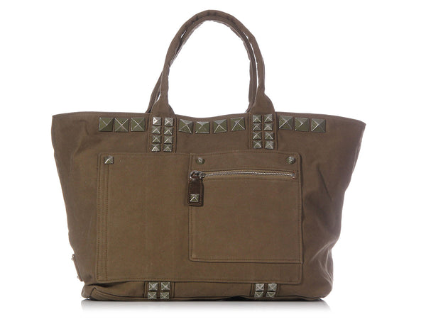 Marc Jacobs Military Green Sweet Punk Beach Tote