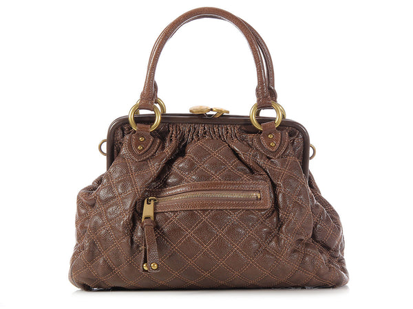 Marc Jacobs Brown Stam
