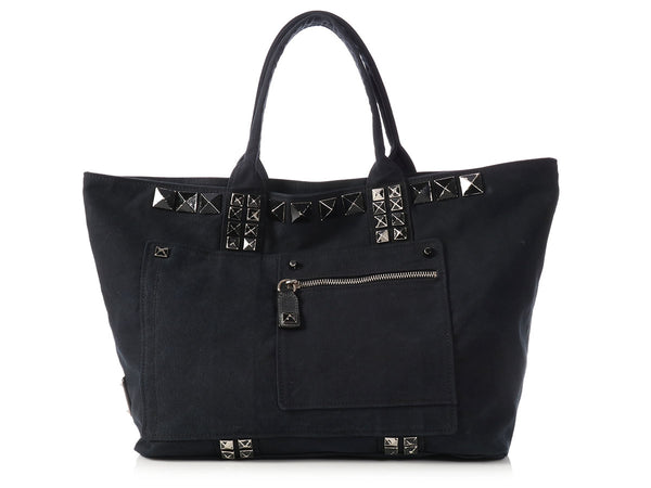 Marc Jacobs Large Black Sweet Punk Tote