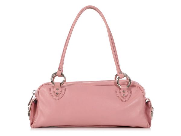 Marc Jacobs Rose Quartz Calfskin Wonder Bag