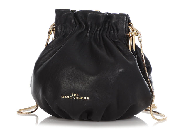 Marc Jacobs Black Leather Soirée Bag