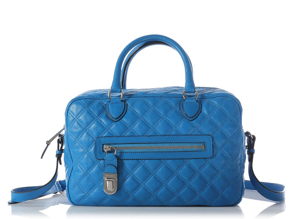 Marc Jacobs Bluette Manhattan Convertible Satchel
