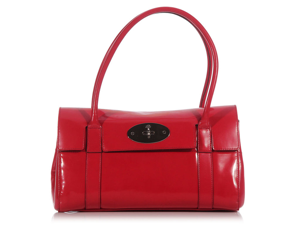 Mulberry Red Bayswater Shoulder Bag
