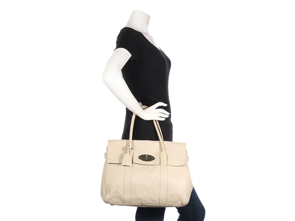 Mulberry Dove Gray Bayswater Handbag