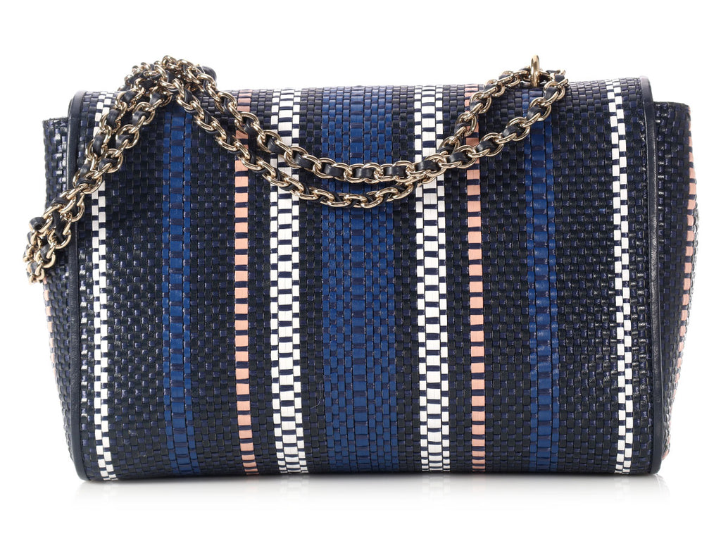 Mulberry Medium Raffia Woven Leather Lily Bag