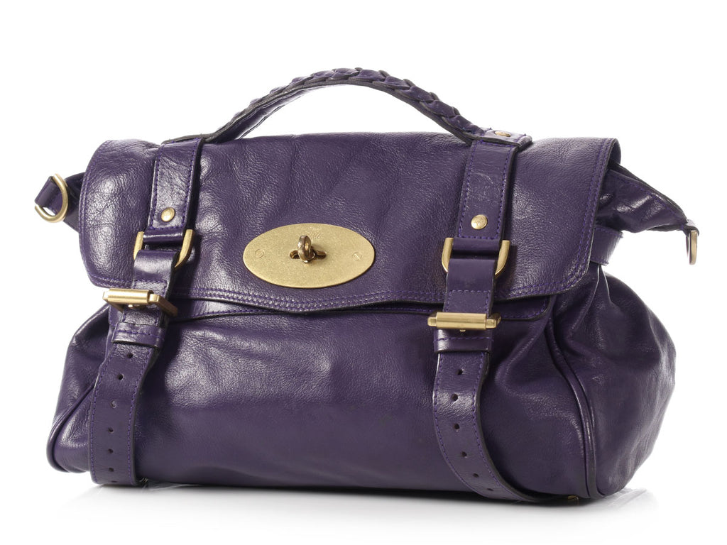 Mulberry Purple Alexa Satchel