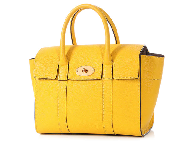 Mulberry Small Canary Bayswater