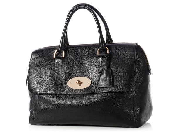 Mulberry Black Del Rey Bag