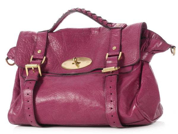 Mulberry Plum Soft Buffalo Alexa